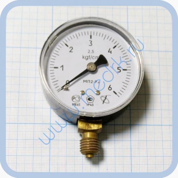 Манометр МП2 УФ х 6 кгс/см2  Вид 6