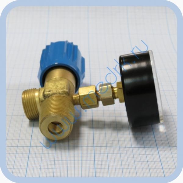 Вентиль кислородный ВК-97М с переходником под манометр  Вид 6