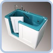 Ванна сидячая Комфорт с боковой дверью