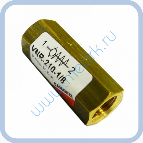 Клапан обратный 1/8 VNR-210 для ГК-10-2