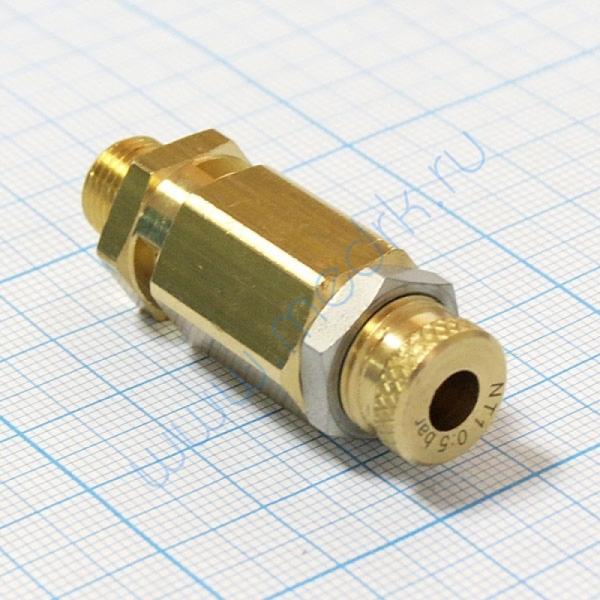 Клапан предохранительный VS18NT (0-6 бар) для ГК-10-2  Вид 1