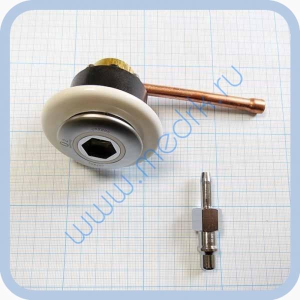 Система клапаная быстроразъемная СКБ-1 (К) под пайку (кислород)  Вид 2