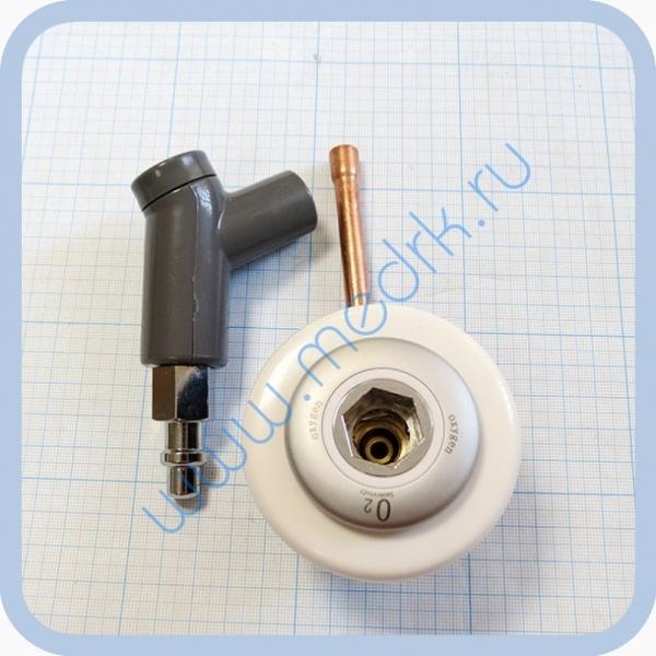 Система клапаная быстроразъемная СКБ-1 (К) под пайку (кислород)  Вид 6