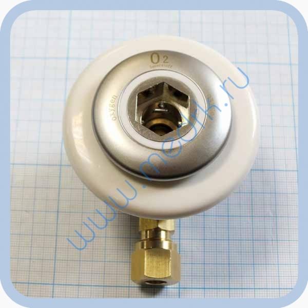 Система клапаная быстроразъемная СКБ-1 (К) под развальцовку (кислород)  Вид 1