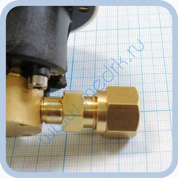 Система клапаная быстроразъемная СКБ-1 (К) под развальцовку (кислород)  Вид 3