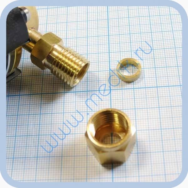 Система клапаная быстроразъемная СКБ-1 (К) под развальцовку (кислород)  Вид 4
