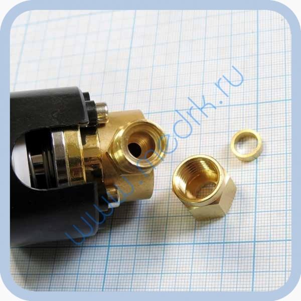 Система клапаная быстроразъемная СКБ-1 (К) под развальцовку (кислород)  Вид 5