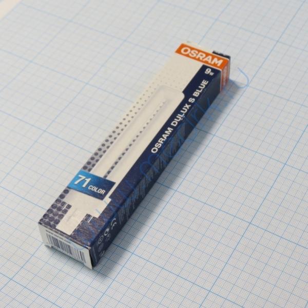 Лампа Osram Dulux S Blue 9W/71 G23