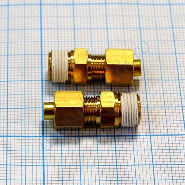 Соединение прямое резьбовое 4R1/8 KFH04B-01S  Вид 1