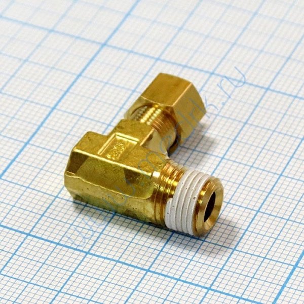 Соединение угловое резьбовое 4R1/8 KFL04B-01S для ГК-100-3  Вид 4