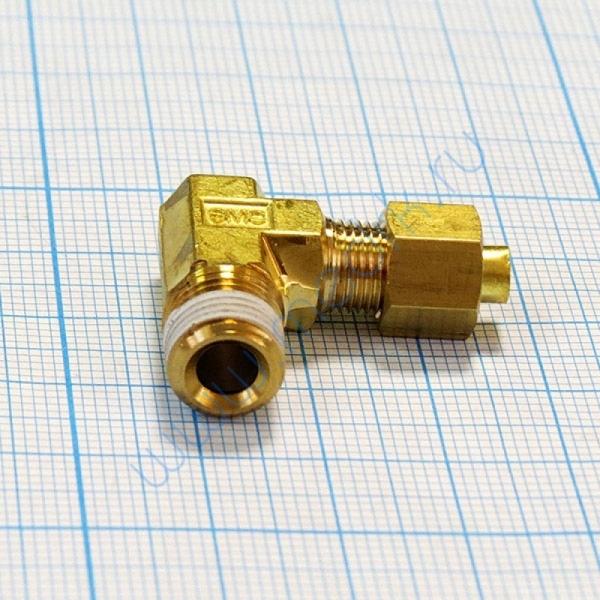 Соединение угловое резьбовое 4R1/8 KFL04B-01S для ГК-100-3  Вид 5