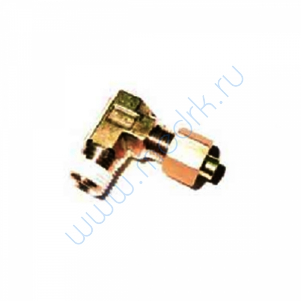 Соединение угловое резьбовое 6R1/8 KFL06B-01S для ГК-100-3  Вид 1
