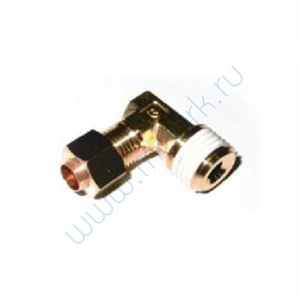 Соединение угловое резьбовое 6R 1/4 KFL06B-02S для ГК-100-3