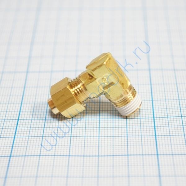 Соединение угловое резьбовое 6R 1/4 KFL06B-02S для ГК-100-3  Вид 1