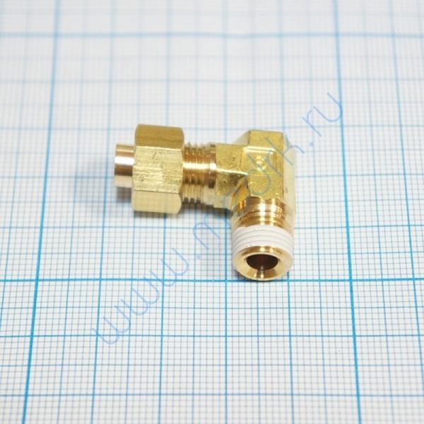 Соединение угловое резьбовое 6R 1/4 KFL06B-02S для ГК-100-3  Вид 2