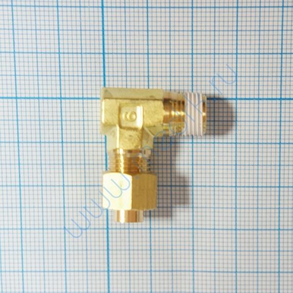 Соединение угловое резьбовое 6R 1/4 KFL06B-02S для ГК-100-3  Вид 3