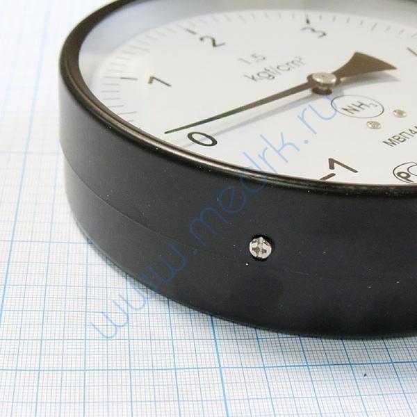 Мановакуумметр МВП4А-Уф (-1..,0...5,0 кгс/см2), аммиак  Вид 4