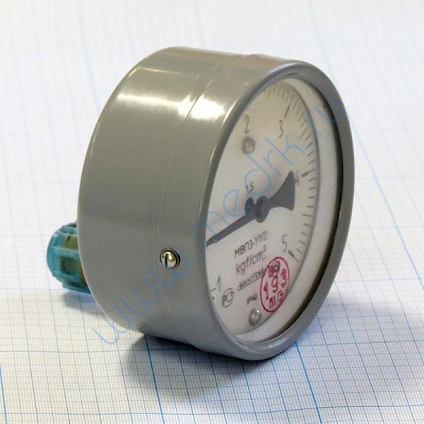 Мановакуумметр МВПЗ-УУ2-5 кгс/см2 х 1.5 осевой