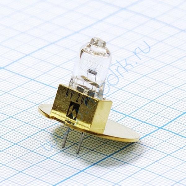 Лампа галогенная (галогеновая) Topcon 6V 20W (TSL02)  Вид 1