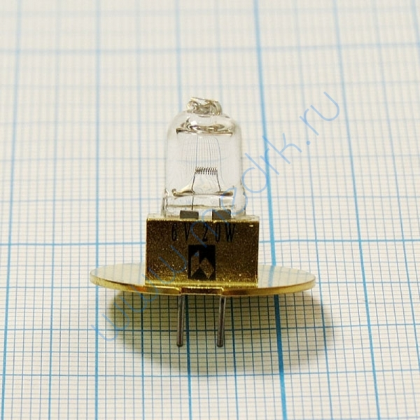 Лампа галогенная (галогеновая) Topcon 6V 20W (TSL02)  Вид 6
