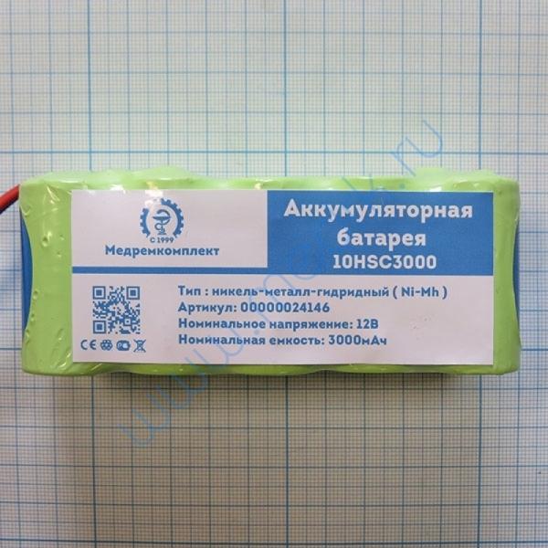 Батарея аккумуляторная 10H-SC3000P X065 (модель NKB - 301V) для ECG1350 и дефибрилляторов TEC (МРК)  Вид 3