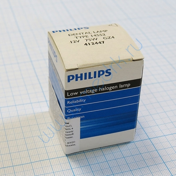 Лампа Philips 14552 12V 75W GZ4