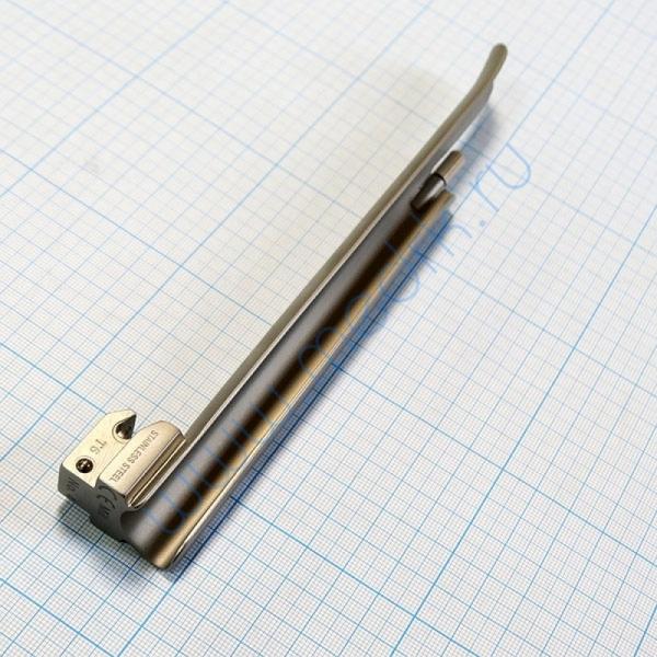 Клинок ларингоскопический KaWe Miller (Миллер) прямой №4  Вид 2
