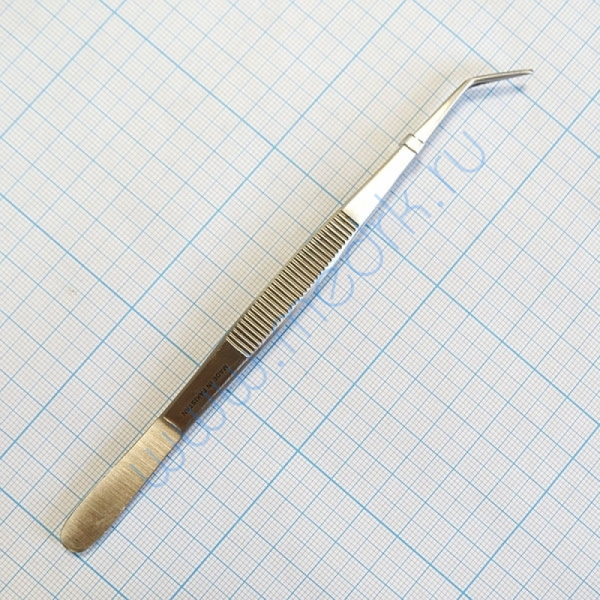Пинцет зубной изогнутый SD-0007-05 160 мм (Surgicon)  Вид 2