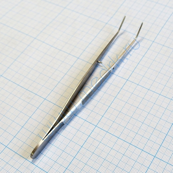 Пинцет зубной изогнутый SD-0007-05 160 мм (Surgicon)  Вид 4