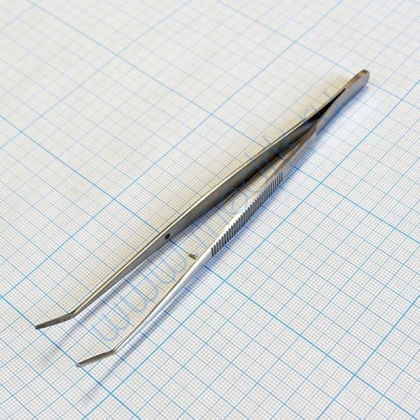 Пинцет зубной изогнутый SD-0007-05 160 мм (Surgicon)  Вид 5