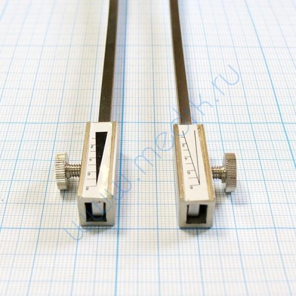 Камертон стальной с грузиками C64/C128, J-31-026 (Surgicon)  Вид 6