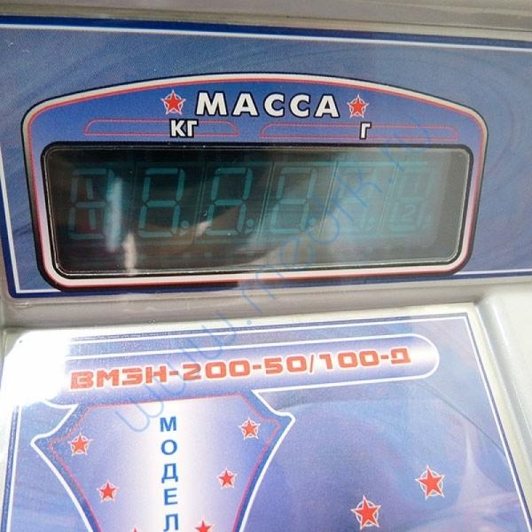 Весы ВМЭН-200 медицинские электронные  Вид 6