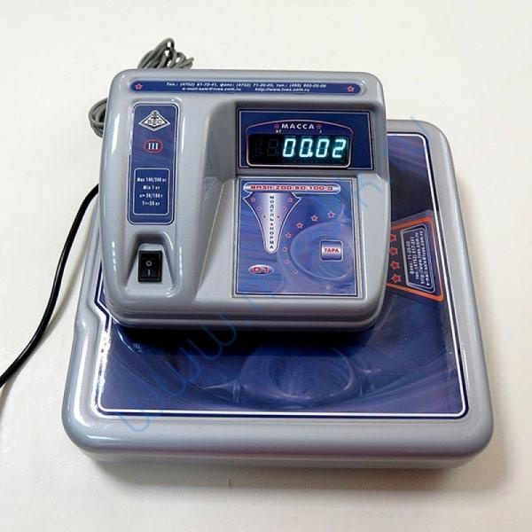 Весы ВМЭН-200 медицинские электронные  Вид 14