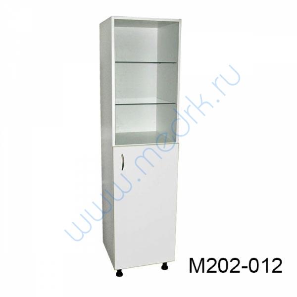 Шкаф медицинский М202 одностворчатый с дверцей  Вид 1