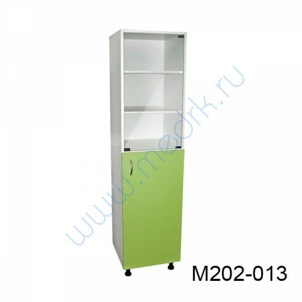 Шкаф медицинский М202 одностворчатый с дверцей  Вид 2
