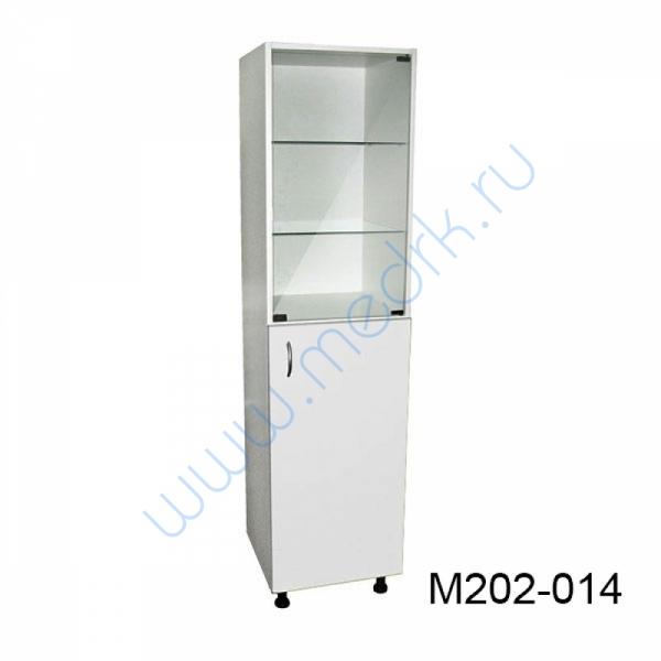Шкаф медицинский М202 одностворчатый с дверцей  Вид 3