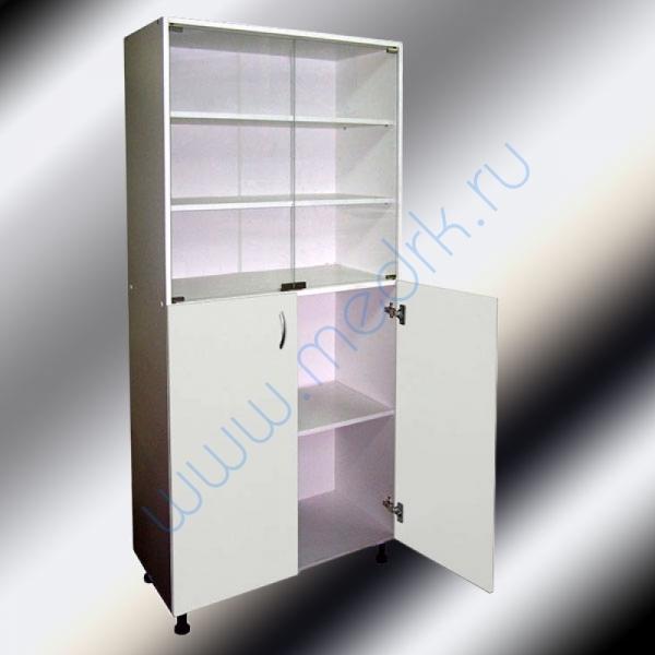 Шкафы двухстворчатые медицинские М202-031 с нижними дверцами  Вид 2