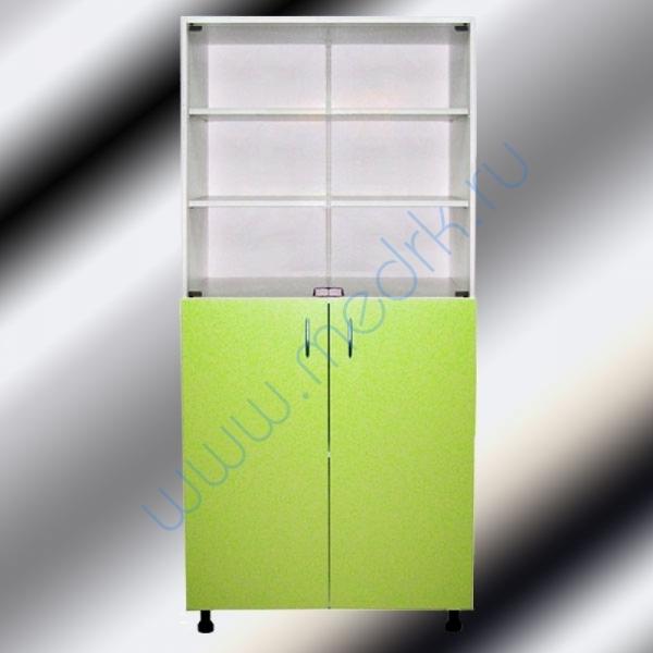 Шкафы двухстворчатые медицинские М202-031 с нижними дверцами  Вид 4