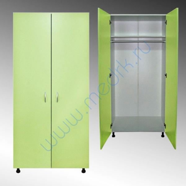 Шкаф медицинский для одежды М202-04  Вид 1