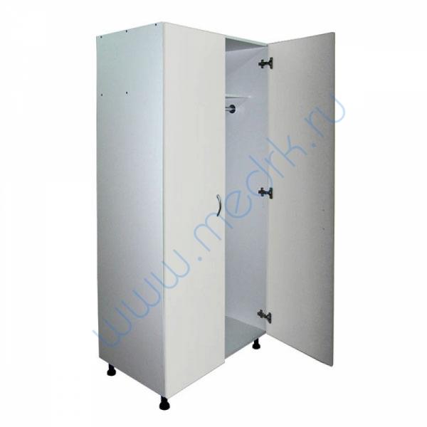 Шкаф медицинский для одежды М202-04  Вид 2