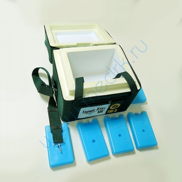 Термоконтейнер медицинский ТМ-5  Вид 7