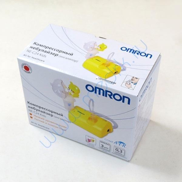 Ингалятор компрессорный Omron NE-C24-Kids   Вид 1