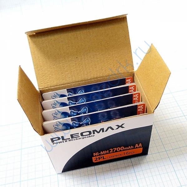 Аккумулятор Pleomax NI-MN, 2700mAh  Вид 1