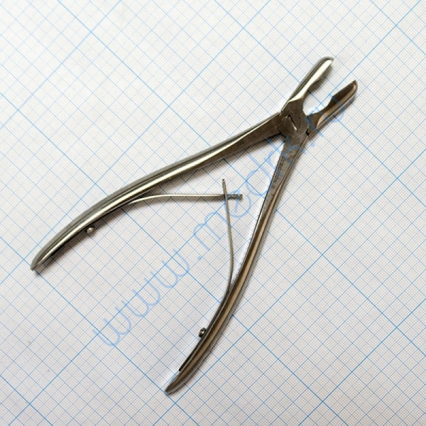 Щипцы-кусачки костные с круглыми губками изогнутые Jo-21-882  Вид 2