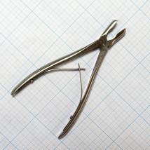 Щипцы-кусачки костные с круглыми губками изогнутые Jo-21-882