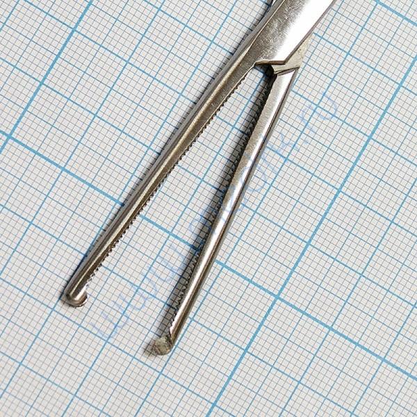 Зажим кровоостанавливающий зубчатый прямой №2 J-17-118  Вид 6
