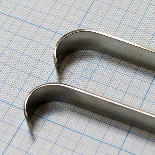 Крючок пластинчатый по Фарабефу парный J-19-018  Вид 2
