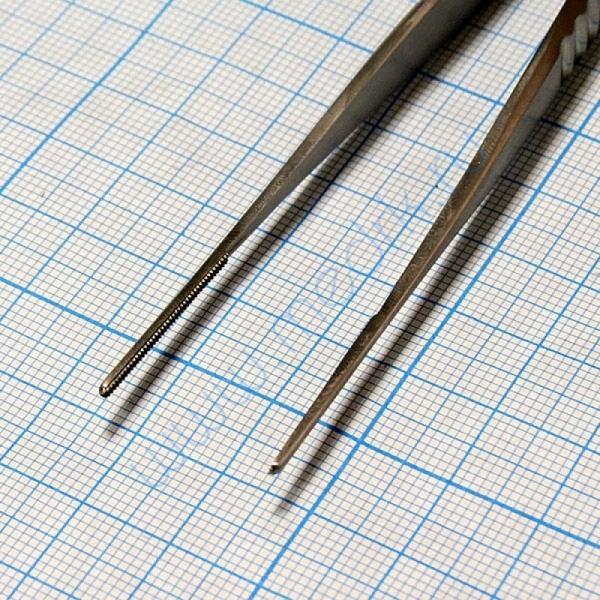 Пинцет сосудистый прямой PC-504-15  Вид 4