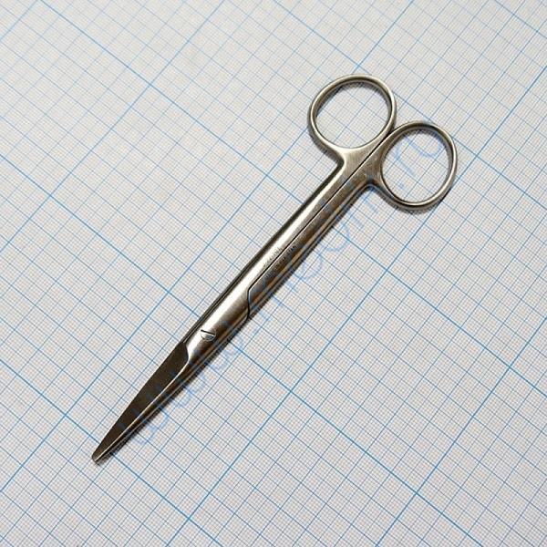 Ножницы хирургические прямые J-22-101  Вид 1