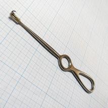 Крючок хирургический двухзубый острый PF-026-02